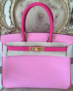 5P拼E5 30 磨砂金扣 T刻 票据齐  #brandnew##birkin30##5P##E5##epsom# #hermes##ghw##stamp T##fullset# #Rose tyrien##pink##rare##hot# #hermesbirkin# by qbabydoll