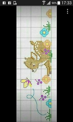 Baby Cross Stitch Patterns, Cross Stitch For Kids, Cross Stitch Borders, Cross Stitch Baby, Cross Stitch Animals, Cross Stitching, Cross Stitch Embroidery, Cross Stitch Kitchen, Needlework