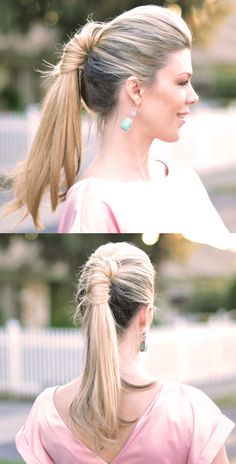 Sleek wrapped ponytail. How To video here http://www.youtube.com/watch?v=VJAHaHpmW2M
