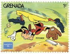 Granada, 1986 Tribilín como lanzador Colección presentada en la exhibición americana de filatelia internacional, Ameripex '86.