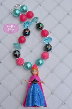 Frozen Disney Princess Anna Elsa inspired by AppleBearyBowtique
