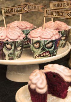 Gran idea para este Halloween #wrappers&tuppers #zombies #iDEALÍZATE!!!