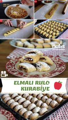 Video presentation Apple Roll Cookies Recipe Video How to make? Here is the video description of this recipe in the people& book and the photos of the experimenters. Apple Cookies, Roll Cookies, Honey Dessert, Chocolate Turtles, Homemade Beauty Products, Biscotti, Food Videos, Cookie Recipes, Deserts