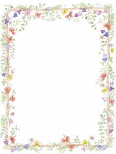 Free Flower Border Clip Art | we are here to witness the marriage commitment of name and name the ...:
