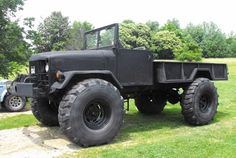 1972 Old military deuce and a half on 53's
