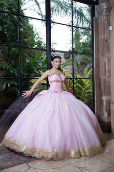 70 Mejores Imágenes De Vestidos De 15 Color Dorado Foto De