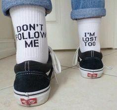 vans, socks, and lost image Cute Socks, My Socks, Vans Socks, Happy Socks, Lost Socks, Funny Socks, Awesome Socks, Mode Style, Style Me
