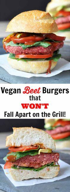 Vegan Beet Burgers t