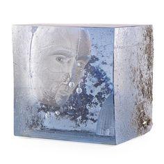 BERTIL VALLIEN | Cast Glass Sculpture by Bertil Vallien at Schantz Galleries