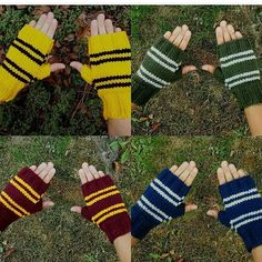 Your place to buy and sell all things handmade Crochet Patterns Amigurumi, Knitting Patterns Free, Free Knitting, Harry Potter Party Decorations, Harry Potter Crochet, Tsumtsum, Crochet Kids Hats, Harry Potter Outfits, Fingerless Gloves