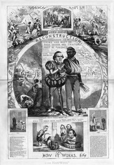 Primary Sources - Radical Reconstruction - LibGuides for Library Schools at LibGuides CMS Sandbox for Library Schools Photography Essentials, City Photography, Us History, Black History, History Teachers, American Civil War, American History, American Cartoons, Black And White City