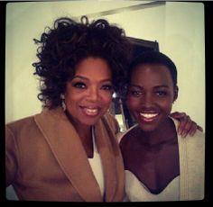 Oprah Winfrey & Lupita N'yongo