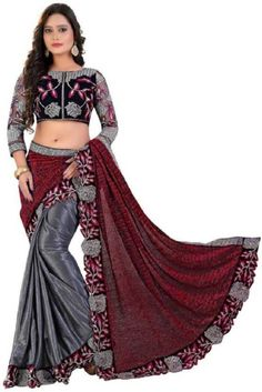 Buy Best Design Daily Wear Georgette Saree online at best prices on Afrizar. We shop all our African Women Fashion, clothing, Grocery with worldwide fast delivery. #Saree #PromDress #Prom #AfricanSaree #IndianSaree #dresses