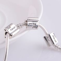 Best Friends 925 Sterling Silver Charms