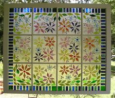 Question for those who've done old window art