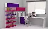 muebles infantiles de diseños minimalistas, muebles modernos para chicos, muebles laqueados para chicos