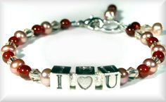 Childs I Luv U Bracelet
