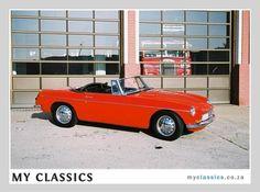 1962 MG B classic car