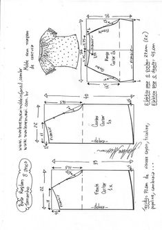 Amazing Sewing Patterns Clone Your Clothes Ideas. Enchanting Sewing Patterns Clone Your Clothes Ideas. Baby Dress Patterns, Baby Clothes Patterns, Kids Patterns, Sewing Patterns Free, Clothing Patterns, Love Sewing, Sewing For Kids, Baby Sewing, T Shirt Sewing Pattern