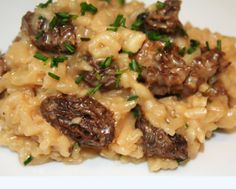 Risotto Rice, Weird Food, Looks Yummy, French Food, Rice Dishes, Crockpot, Curry, Food And Drink, Menu