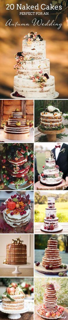 Jesienne torty weselne- dużo inspiracji
