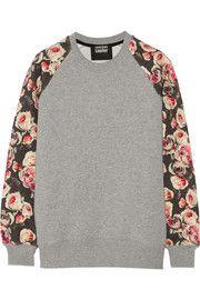 Markus LupferEnglish Rose cotton-terry sweatshirt