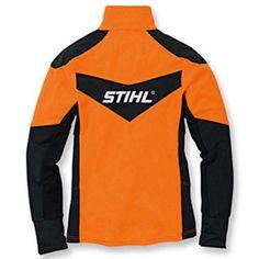 DYNAMIC, microfleece jacket, backside