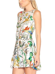 Planisphere Play Dress - LIMITED (AU $85AUD / US $60USD) by Black Milk Clothing