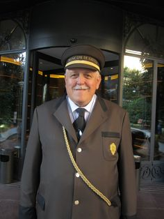 Maurizio. If you have been at the Principe, you will remember him: big and tall,  he's had to help more than one rockstar get into the car and away from haunting fans!