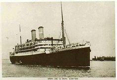 Orient Line - Page 3: 1915-1939 - Ocean Liner Postcards - S S Orama (1924-1940)