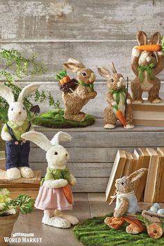 A happy hunt for Easter decor starts here at World Market. You'll find an array of unique and affordable baskets, decorative figures, flowers, wreaths and candles that spread springtime cheer all season long. www.worldmarket.com #WorldMarket Easter Decor