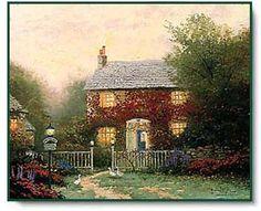 Pye Corner Cottage ~ Thomas Kinkade