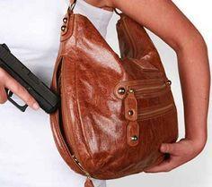Coach Concealed Gun Purse | guns, concealed carry purse, conceal carri, coach, carri purs, leather ...