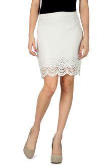Van Heusen Woman Skirts, High Waisted Pencil Skirt for women at Trendin.com ... designed by Deepika Padukone