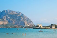 Mondello Beach, near Palermo, Sicily, Italy | Photo by Matt Buck for cntraveller.com