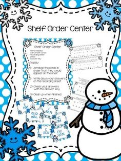Shelf Order Center; includes 3 different levels for E, FIC/F, and Non-ficiton; both color and black and white to save ink $ on TpT