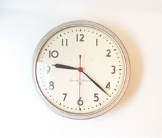 Always a must in an office is a clock, i love the simplicity but would have to get the clock last since it can either be a quiet or loud piece