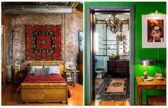 You can drool over more photos of Wong's apartment over at the New York Times. It's listed for sale with Great Jones Realty.