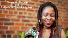 Meet the LATE, GREAT Chiwoniso Maraire, Zimbabwean singer, songwriter, and exponent of Zimbabwean mbira music.  She just passed, but keep her spirit alive by checking out her music.