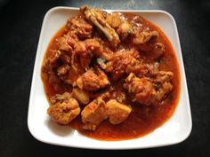 Spicy Onion Tomato Chicken Red Gravy Curry Recipe - A Spicy Street Food ...