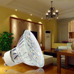 GU53 Lamp Holder AC220 240V 4W 380Lm LED Spot Light Suitable For Home Office Living Room Bedroom 3200K 4500K 6500K Color Temperature Selection