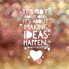 Here's to a day filled with opportunities to make ideas happen!