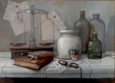 Olga Akkel still life in Dutch style