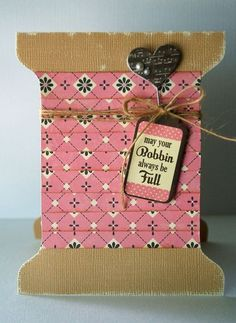 adorable for a quilter or seamstress!