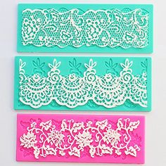 Cake Decoration Tool Flower Embossing Lace Fondant Mould Cupcake Mat Set of 3 Sago Brothers http://www.amazon.com/dp/B0111UJU6W/ref=cm_sw_r_pi_dp_QzPvwb00N12S1