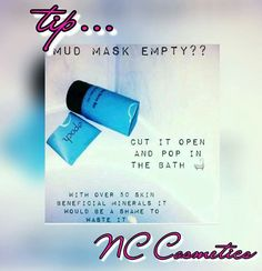 ⛤Marine Mud⛤  Now THIS is amazing i cannot wait to recieve mine!! ✴️Suitable for ALL skin types, even sensitive skin! ✴Use it all over your body! ✴️Absorbs excess oils. ✴Helps clear breakouts. ✴️You can literally watch it extract the dirt and blackheads from the part of skin appied to. ✴️It is a deep exfoliation, which leaves your skin smooth and refreshed.  ✴️ (MY FAVOURITE....)Helps reduce the appearance of ⛤STRETCH MARKS⛤  Message me to order yours 💋 Stretch Marks, Smooth Skin, Sensitive Skin, Your Skin, Mud, Leaves, Deep, Messages, Cosmetics