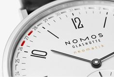 Update from NOMOS Glashütte: A patented date complication Design Maker, Mechanical Watch, Cool Websites, Watches For Men, Markers, Connect, Bond, Awesome Watches, Men Watches