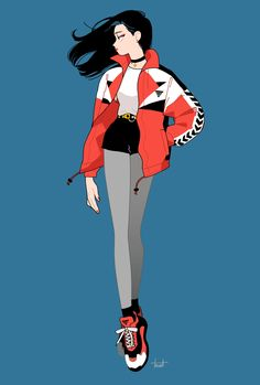 Character Outfits, Character Art, Simple Character, Pretty Art, Cute Art, Female Characters, Anime Characters, Character Illustration, Illustration Sketches