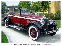 1926 Stutz by sjb4photos, via Flickr