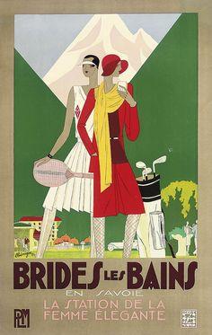 Brides les Bains - Leon Benigni (1929) Fallen Angels